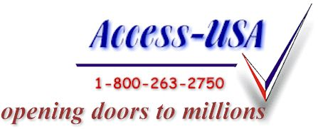 Access USA - opening doors to millions